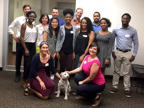 Hope Fund Fellows and Family at the 2015 Orientation