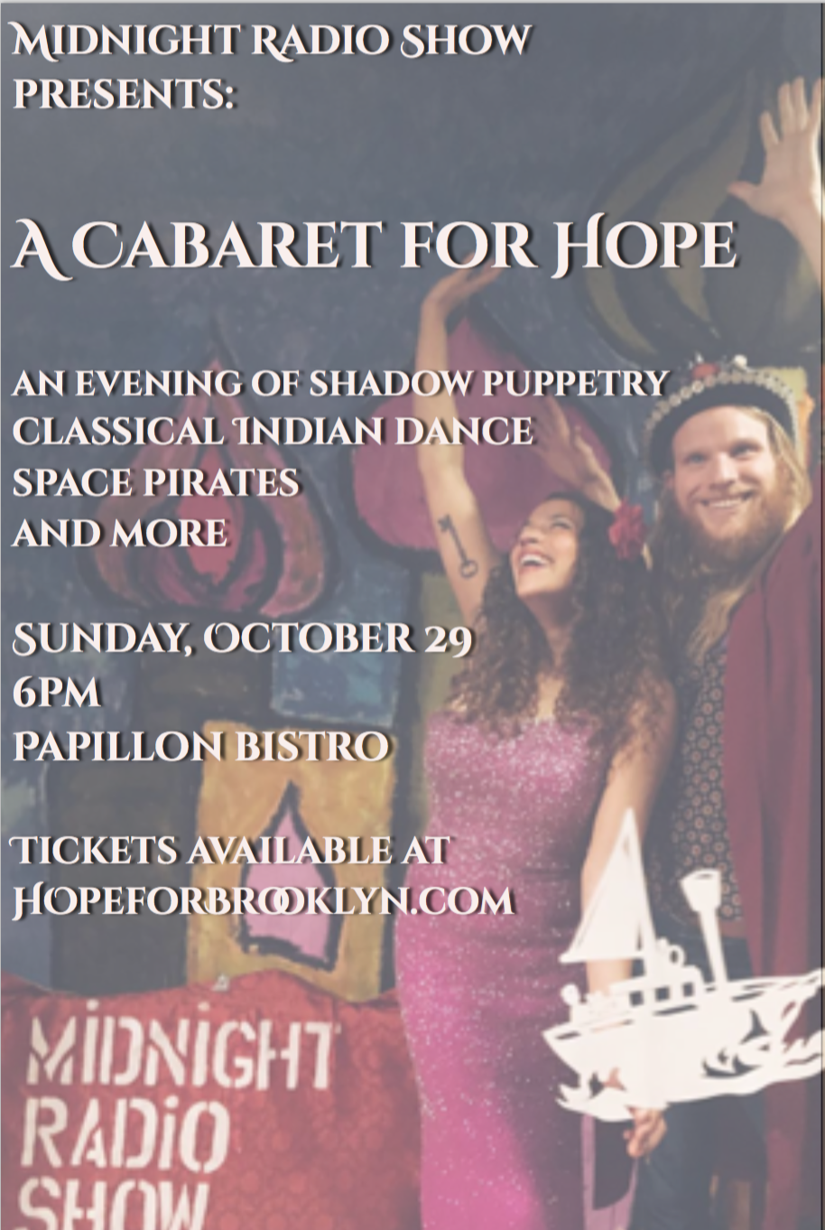 Come to our Cabaret for Hope